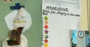 Madeleine sleeping chart